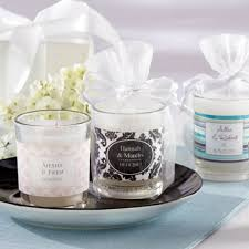 wedding candle favors candle wedding favors by beau coup the fashionbrides