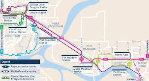 vancouver skytrain map the buzzer route buzz coast express trainbus 701
