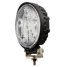 led automotive work light rcv9595 6 led work light round flood led work lights