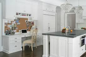 Kitchen Desk Design Desk In Kitchen Sinulog Us