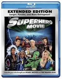 superhero movie blu ray drake bell sara paxton new sold as is