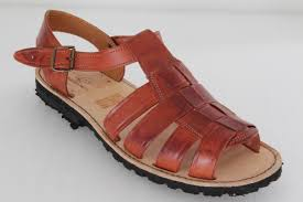 men u0027s brown sandals authentic summer huaraches with buckle strap