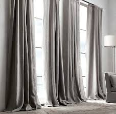 Gray Burlap Curtains Best Of Slate Gray Curtains Ideas With Gray Burlap Curtains Light