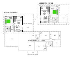 lovely design ideas house plans with granny flat attached 14