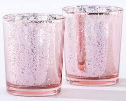 mercury tea light holders light pink mercury glass tea light holder set of 4 christmas