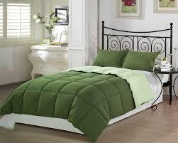 green bed set cheerful green comforters