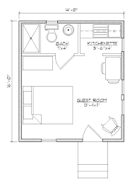 house with separate guest house guest house plan lovely bedroom bath plans small separate modern
