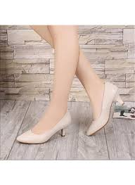 Platform Heels Comfort Spring Platform Shoes Womens Heels Spring Comfort Pu Casual Chunky