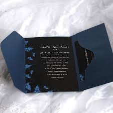 and black wedding invitations pocket wedding invitations cheap wedding invitations free