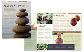 naturopathic medicine newsletter template word u0026 publisher