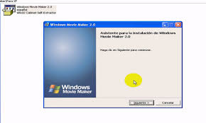 Win32 Cabinet Self Extractor Como Instalar Movie Maker 2 0 Youtube