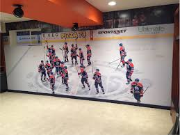 wall murals decals edmonton wall graphics edmonton signkore sports team wall mural