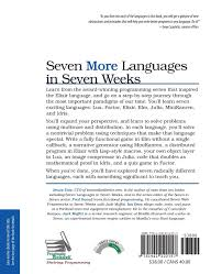 seven more languages in seven weeks languages that are shaping
