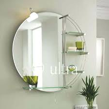 bathroom mirror with lights refraction led bathroom mirror