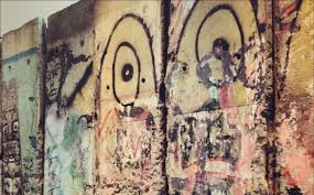 piece of the berlin wall returning to midtown biggie smalls view photo in gallery