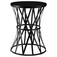 small black accent table awesome round metal accent table best images about accent tables on