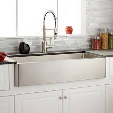 Stainless Steel Farm Sinks For Kitchens 42 Hazelton Stainless Steel Farmhouse Sink Kitchen