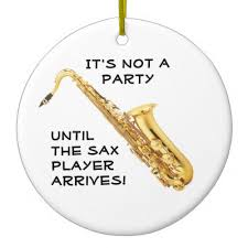 baritone sax ornament zazzle
