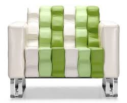 Occasional Armchairs Zuo Ripple Occasional Chair White And Green Armchairs