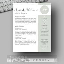 Interior Design Resume Template Word 15 Best Creative Resume Templates Images On Pinterest Cover