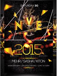 party flyer free 50 super cool new year party flyer templates design freebie