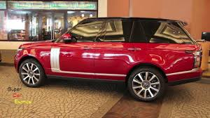 land rover vogue 2015 range rover vogue se supercharged in bordeaux youtube