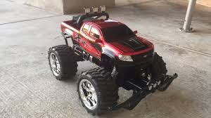 tyco rc grave digger monster truck unboxing new bright chevy colorado zr2 rc red truck youtube