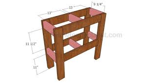 Tv Stand Plans Howtospecialist How by How To Build An Aquarium Stand Howtospecialist How To Build