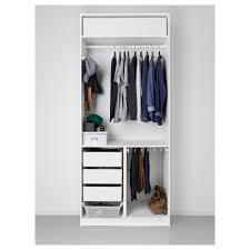 Pax Planner Ikea pax wardrobe white tanem black 100x60x236 cm ikea