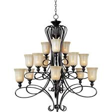 Jefferson 9 Light Chandelier Traditional - early american chandeliers from bellacor