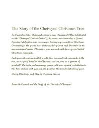 the story of the chetwynd christmas tree u2013 district of chetwynd