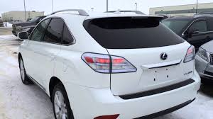 white lexus 2011 pre owned white 2012 lexus rx 450h awd hybrid touring review