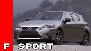 lexus sport tuned suspension 2017 lexus ct 200h f sport youtube