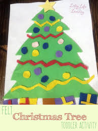 christmas tree felt craft