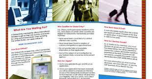 an inside peak at the program brochure global entry integrated