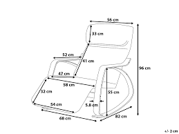 Rocking Chair Drawing Plan Black Armchair Rocking Chair Rocker Weston