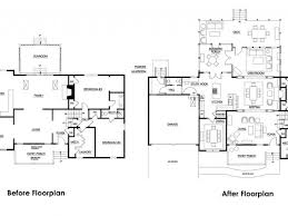 tri level floor plans floor plan for split level home awesome house charvoo