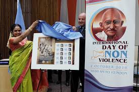 united nations news centre on non violence day ban highlights