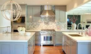herringbone subway tile kitchen backsplash brick grey subscribed