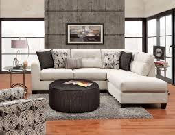 furniture front room furnishings with round fabric coffee table