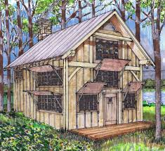 Small Post And Beam Homes 20x24 Timber Frame Plan With Loft Lofts Cabin And Feelings