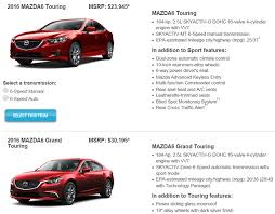 review the sinewy 2016 mazda6 i grand touring bestride