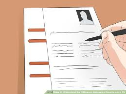 aa cv 3 ways to understand the difference between a resume and a cv