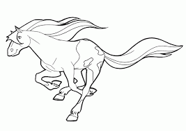 horse land coloring