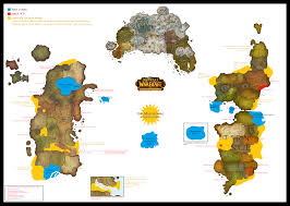 World Of Warcraft Map Where Should I Go Again A Look At Level 80 85 Cataclysm Zones