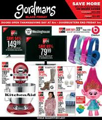 walmart ad thanksgiving day gordmans black friday 2017 ads deals and sales