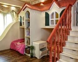 Bunk Bed House Bunk Bed With Stairs And Slide Foter