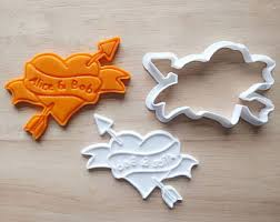 wedding cookie cutters personalized cookie cutter and st set wedding cookie cutter