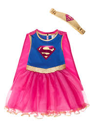 halloween costumes superwoman all u0027s clothing kids pink supergirl costume 2 10 years tu