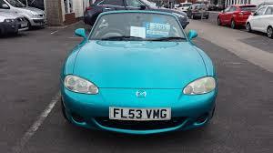 used mazda mx 5 2003 for sale motors co uk